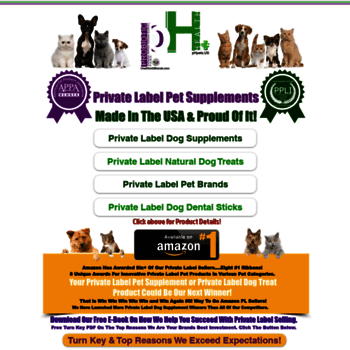 phpets us at WI  Private Label Dog Probiotics| Private Label Dog