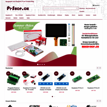 6a77a493587288 pi-shop.ch at WI. Raspberry Pi - Willkommen im Raspberry Pi-Shop.ch