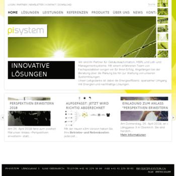 Pi-system.ch thumbnail