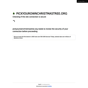 Pickyourownchristmastree.org thumbnail