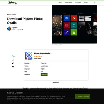 picsart listapp top at WI  Download PicsArt Photo Studio