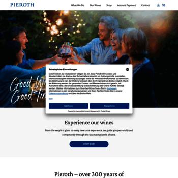 Pieroth.co.uk thumbnail