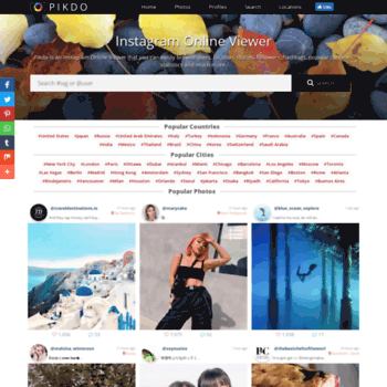 Pikdo Instagram Web Viewer