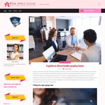 Pinkappledesigns.co.uk thumbnail