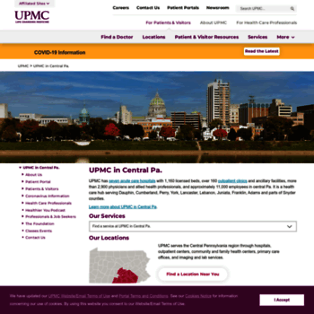 pinnaclehealth org at WI  UPMC Pinnacle: A Top-Rated health