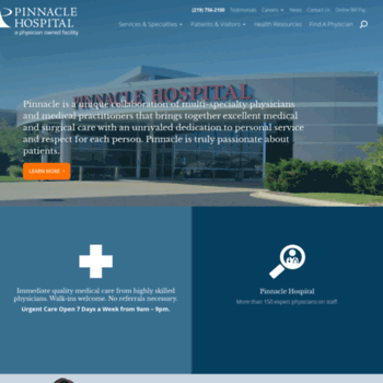 Pinnaclehealthcare.net thumbnail