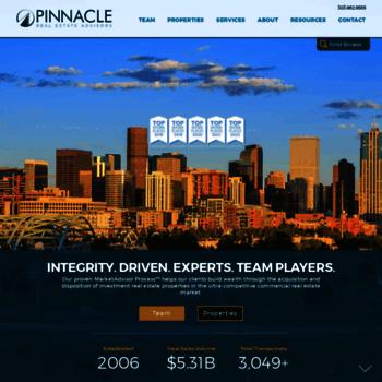 pinnaclerea com at WI  Commercial Real Estate Denver | Pinnacle Real
