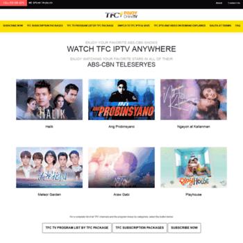 pinoyonlinetv com at WI  TFC IPTV Set Top Box USA - The Filipino