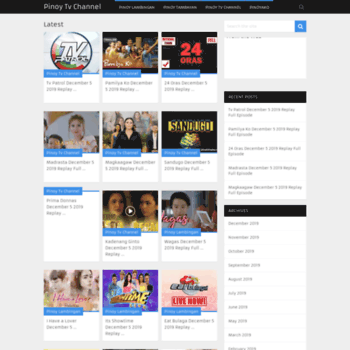 Pinoy shows online
