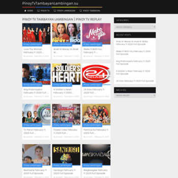 pinoytvshows ae at WI  PINOY TV SHOWS | watch All Pinoy