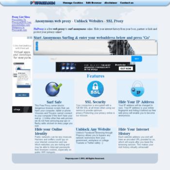 pinproxy com at WI  pinproxy com