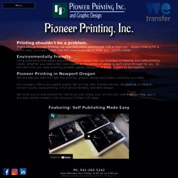Pioneerprinting.net thumbnail