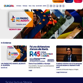 Piueuropa.eu thumbnail