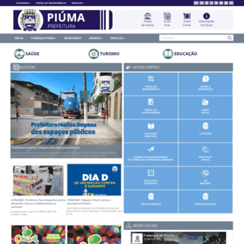 Piuma.es.gov.br thumbnail
