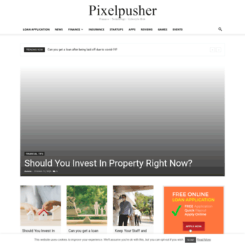 Pixelpusher.co.za thumbnail