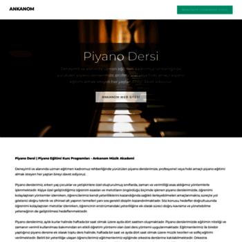 Piyanodersi.org thumbnail