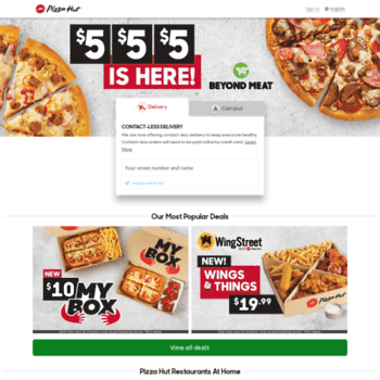 Pizzahut.ca thumbnail