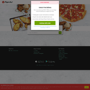 Pizzahutdelivery.ie thumbnail