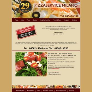 Pizzaservice-milano.de thumbnail