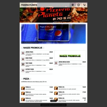 Pizzeriaplaneta.pl thumbnail