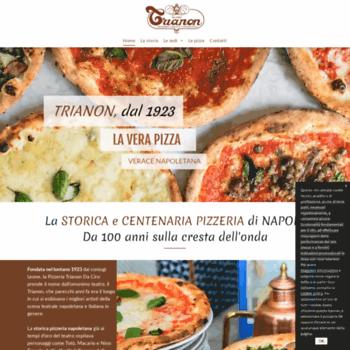 Pizzeriatrianon.it thumbnail