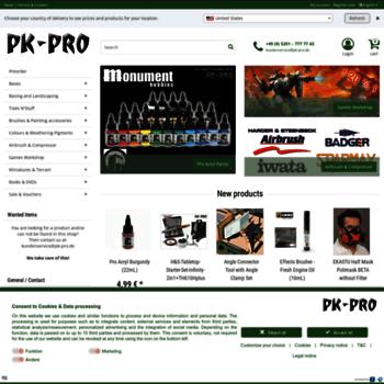 Pk-pro.de thumbnail