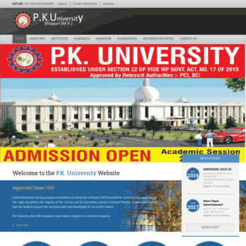 Pkuniversity.org thumbnail