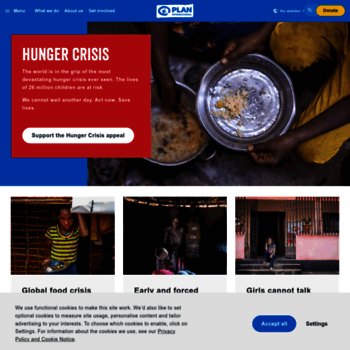 plan-international org at WI  Advancing children's rights