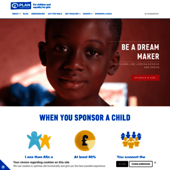 plan-uk org at WI  Sponsor a Child | Children's Rights