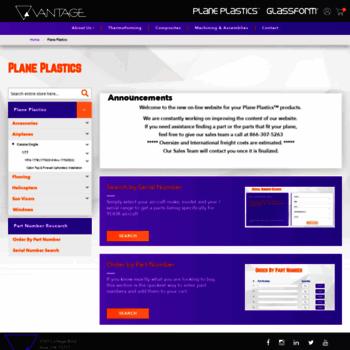 planeplastics com at WI  Plane Plastics - Airplane and