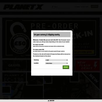 Planet-x-bikes.co.uk thumbnail