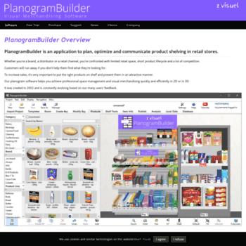 planogrambuilder com at WI  PlanogramBuilder - Online Visual