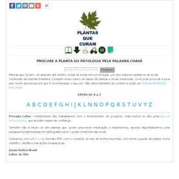 Plantasquecuram.com.br thumbnail