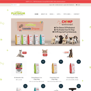 Platinumpetfood.com.my thumbnail