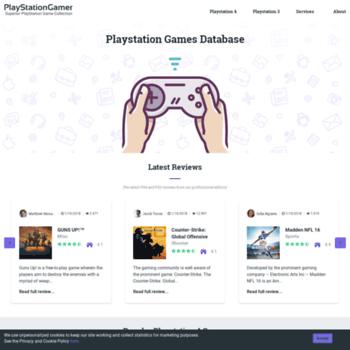 playstationgamer org at WI  PlayStationGamer: Best Playstation games