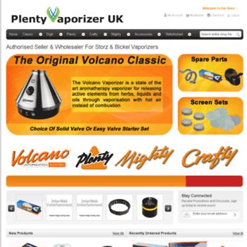 Plenty-vaporizer.co.uk thumbnail