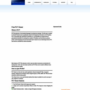 pltviewer org at WI  PLT viewer - FREE PLT/HPGL File Viewer 3 2