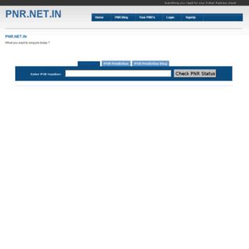 Pnr.net.in thumbnail