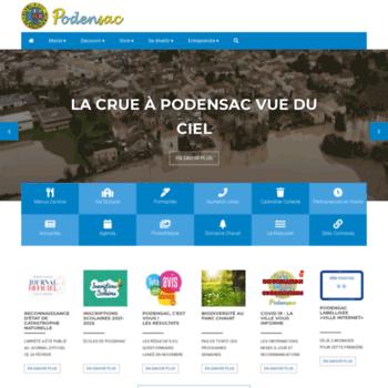 Podensac.fr thumbnail