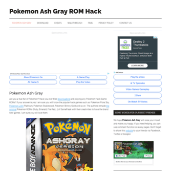 pokemon gray rom