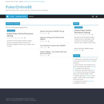 Веб сайт pokeronline8899.com