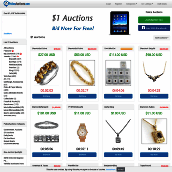 Policeauctions.com thumbnail