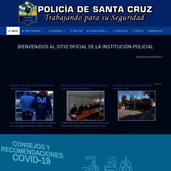 Policiadesantacruz.gob.ar thumbnail
