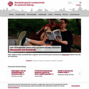 Politische-bildung-brandenburg.de thumbnail