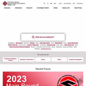 Polyu.edu.hk thumbnail