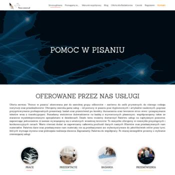 Pomocwpisaniu.pl thumbnail