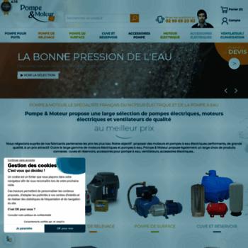 Pompe-moteur.fr thumbnail