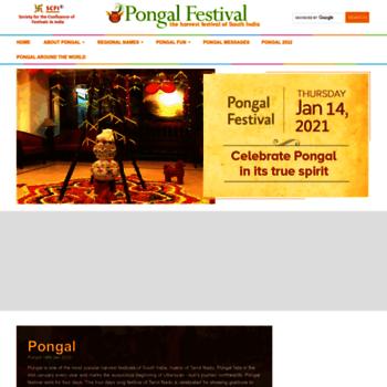 Pongalfestival.org thumbnail