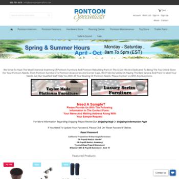 Pontoonspecialists.com thumbnail