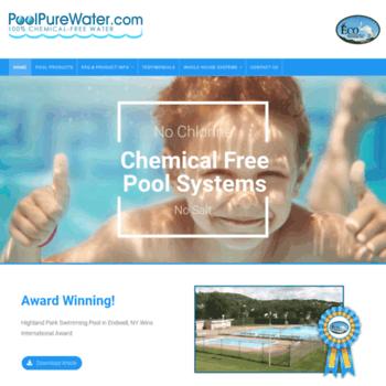 Poolpurewater.com thumbnail
